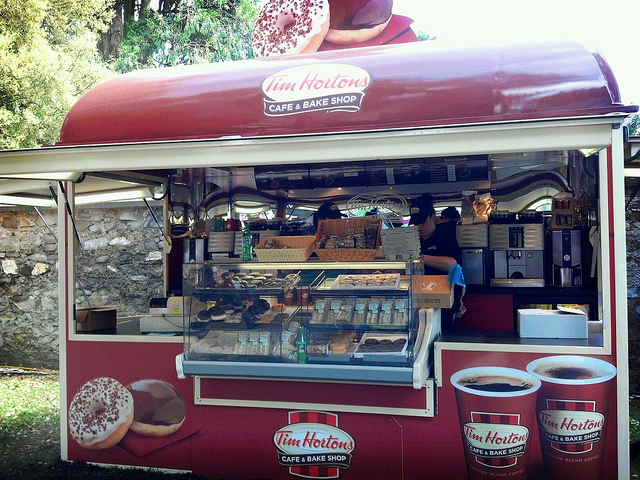 Tim Hortons in Dublin? A Canuck's dream come true (except it's not as good as in Canada, unfortunately).