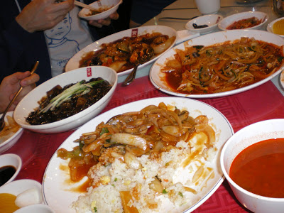 Korean-style Chinese food