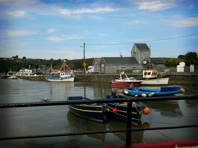 The beautiful village of Passage East, Co. Waterford