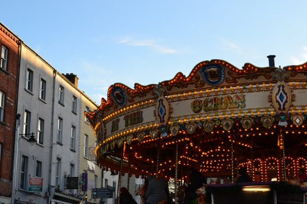 The carousel...