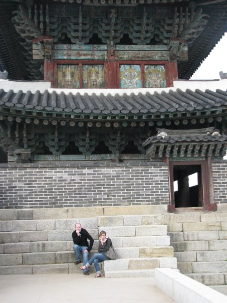 Patrick & I at Hwaseong Fortress, Suwon, South Korea