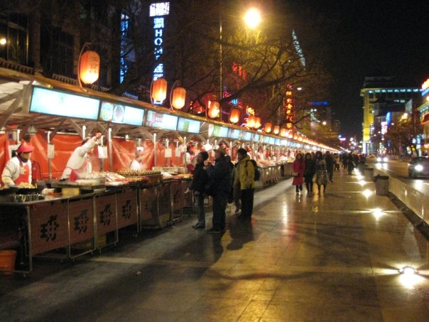 Wangfujing Night Market, Beijing