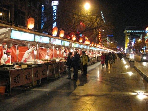 Wangfujing Night Market, Beijing