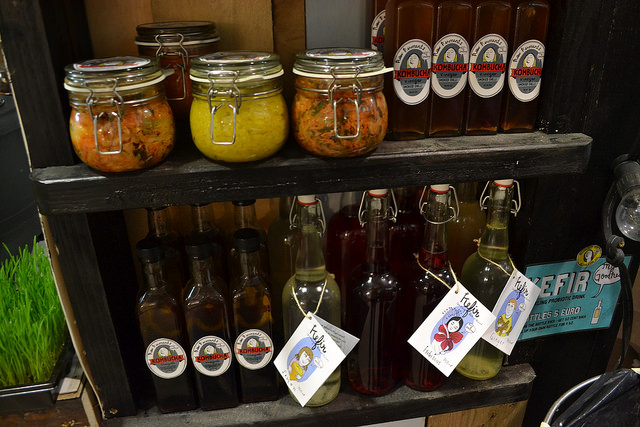 Loved all the pickled/fermented product on display from My Goodness