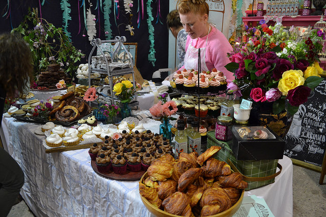 Diva Bakes stall at Ballymaloe Litfest
