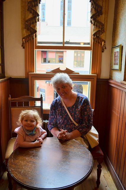 Maeve & Nana at The Crown Pub